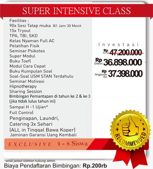 bimbel pkn stan super Intensive Class