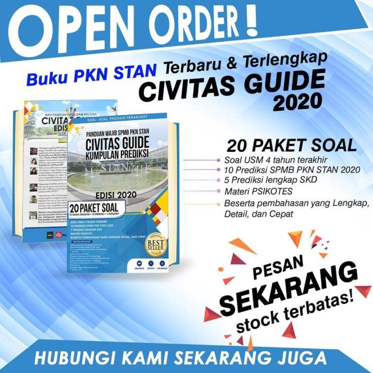 Open order buku PKN STAN Terbaru dan Terlengkap